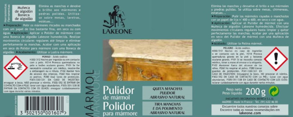 Pulidor de Mármol manual LAKEONE (1)